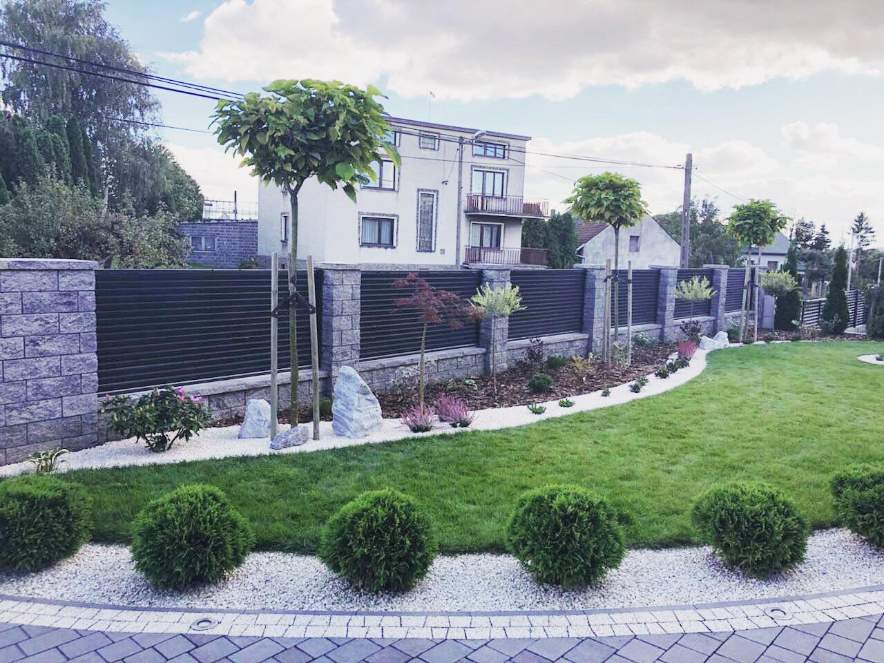 nowoczesny ogród w stylu japońskim efekt końcowy