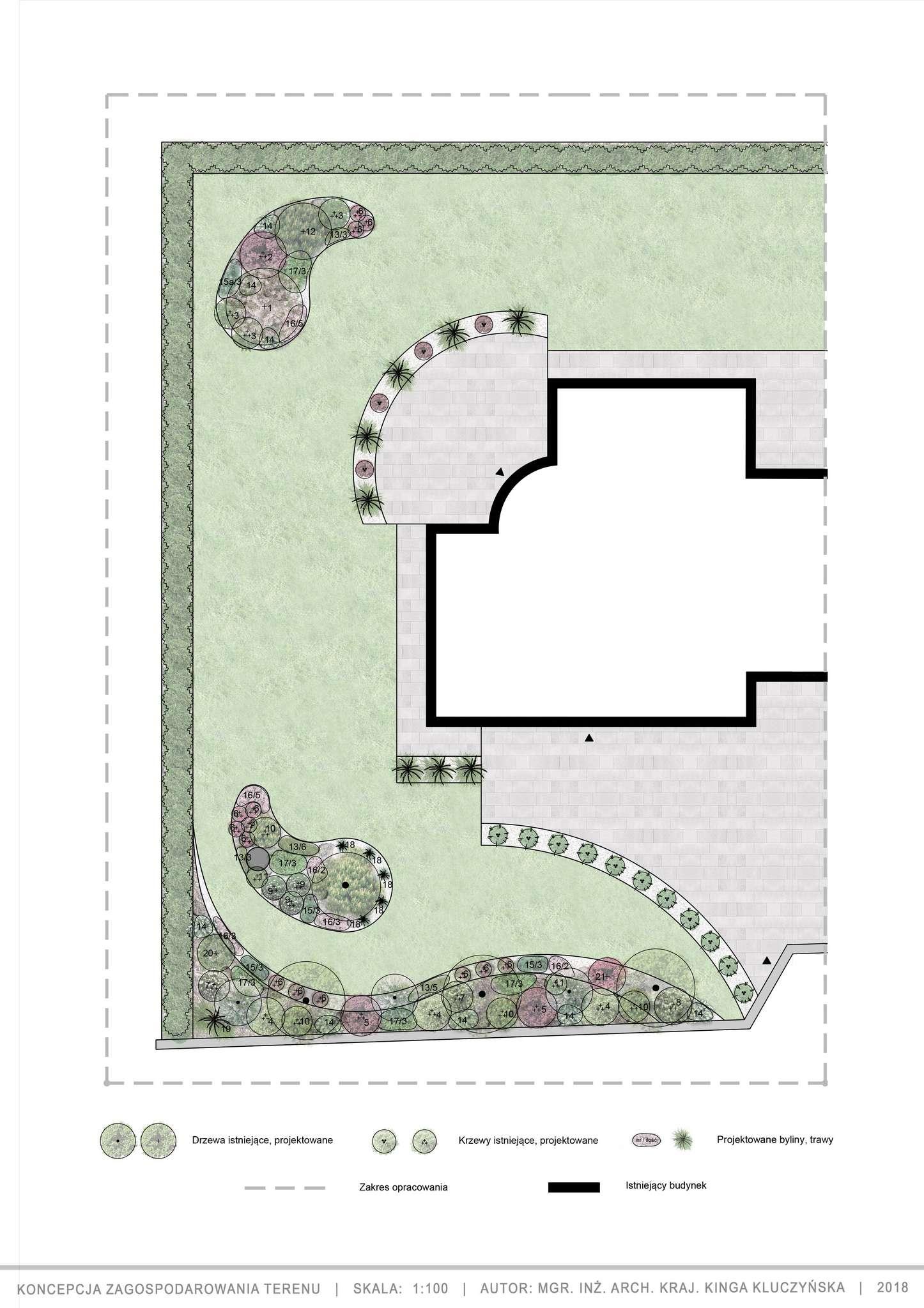 ogród w stylu japońskim projekt koncepcyjny