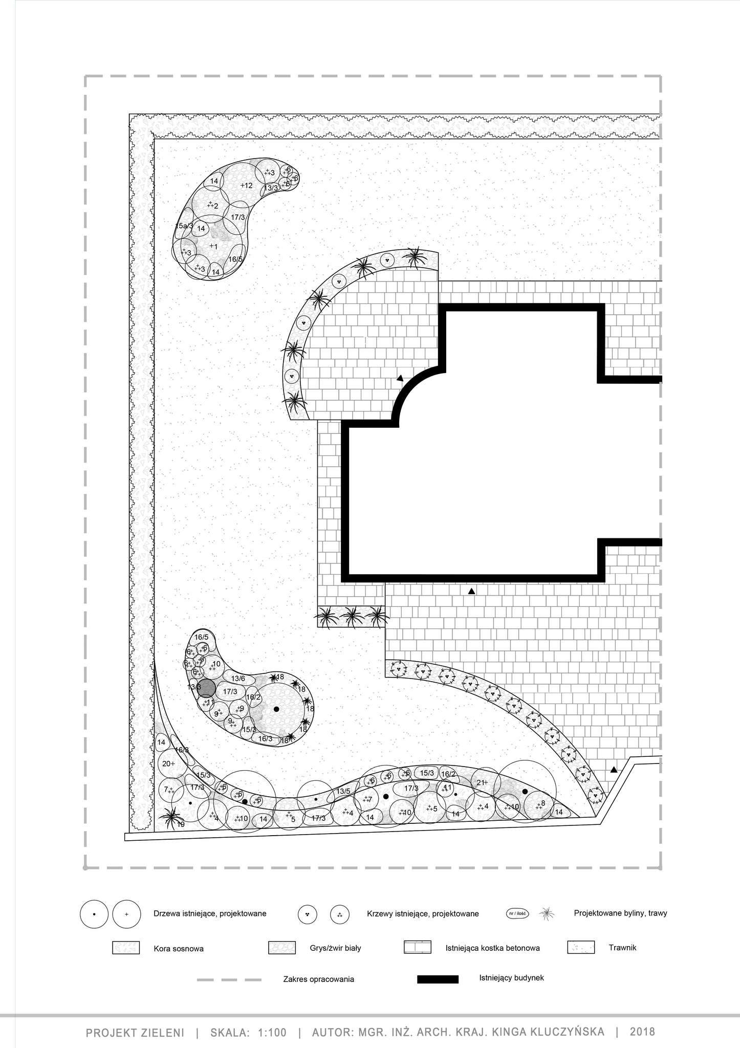 projekt zieleni dla ogrodu w stylu japońskim
